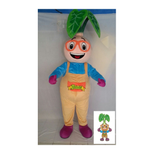 Kostum Maskot Talubi Men