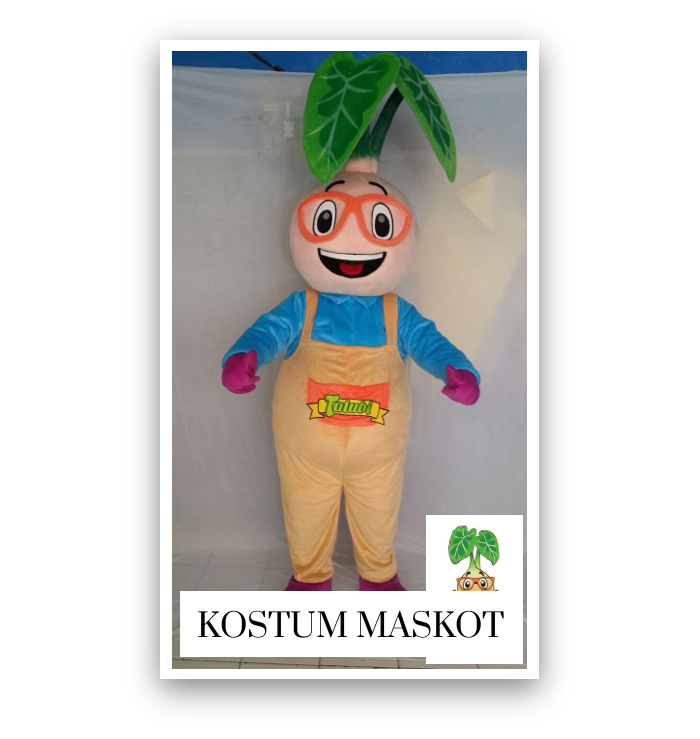 ini adalah kostum maskot
