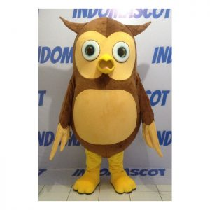 kostum badut maskot owl