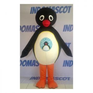 kostum badut maskot pingus english