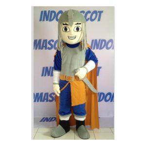 kostum badut maskot warrior