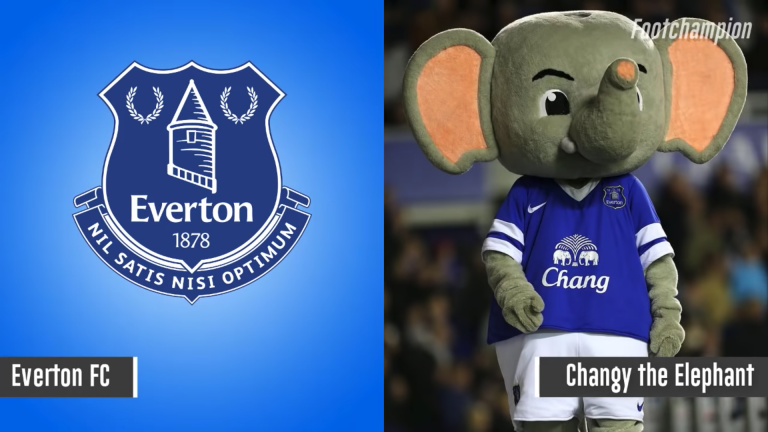 Maskot Everton - Changy