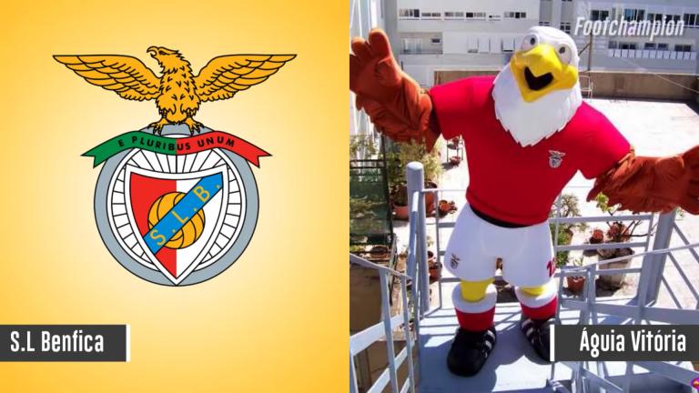 Maskot Benfica - Aguia Vitoria