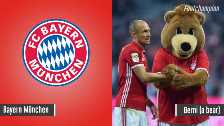 Maskot Bayern Munchen - Berni