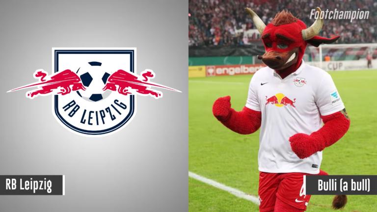 Maskot RB Leipzig - Bulli