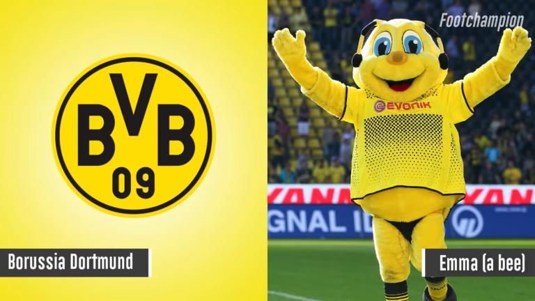 Maskot Borussia Dortmund - Emma