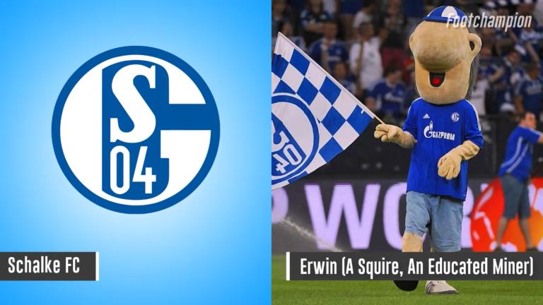 Maskot Schalke - Erwin