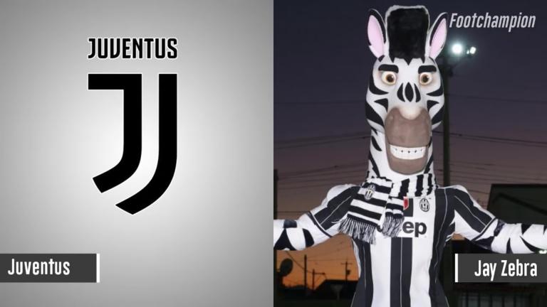 Maskot Juventus - Jay