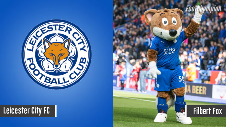 Maskot Leicester City - Filber Fox