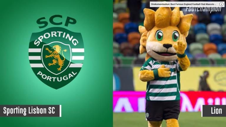 Maskot Sporting Lisbon - Lion