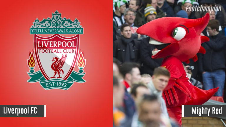 Maskot Liverpool - Mighty Red