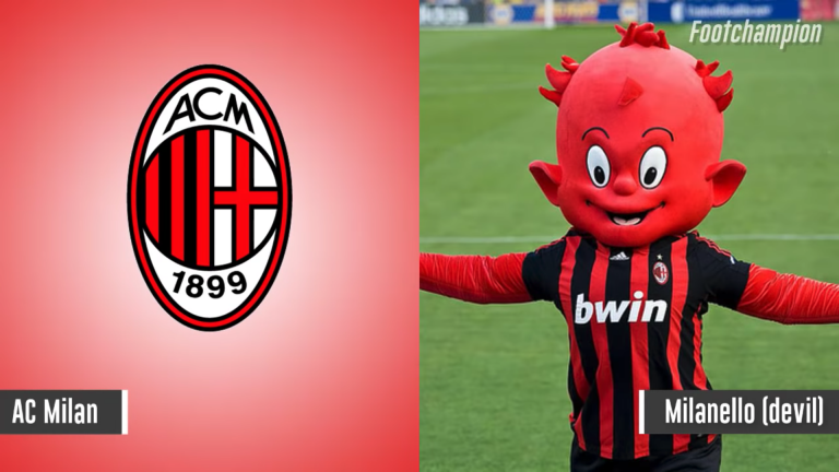 Maskot AC Mila - Milanello