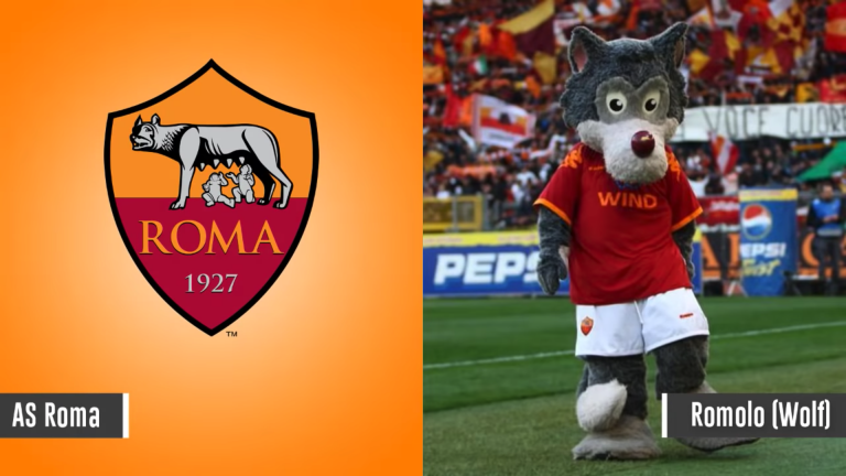 Maskot AS Roma - Romolo