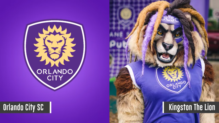 Maskot Orlando City - Kingston