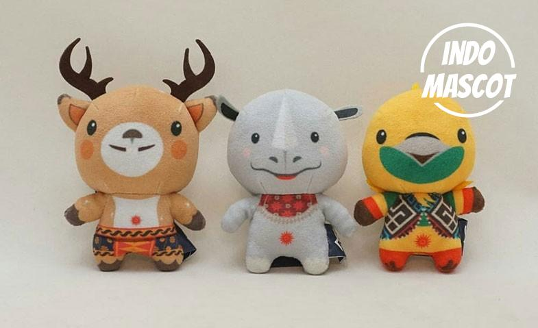 boneka maskot asian games 2018