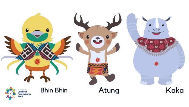 Yuk Kenalan dengan Bhin Bhin, Atung, dan Kaka: Maskot Asian Games 2018 7