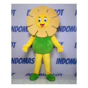 Maskot bunga matahari