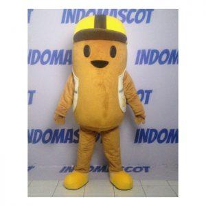 maskot topi kuning