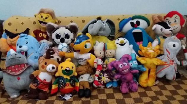 macam-macam boneka maskot