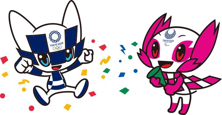 maskot olimpiade tokyo 2020