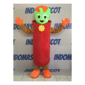 badut maskot alien lucu