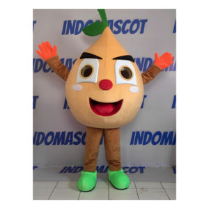 badut maskot jeruk