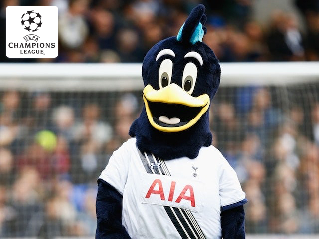 chirpy goes to champions league semifinal