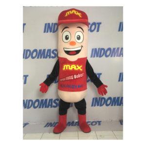 badut maskot max alfa frozen mart