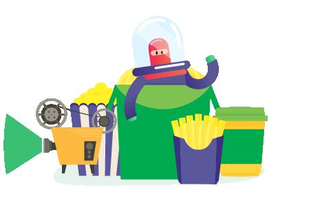 Maskot Grab Food Yang Lucu-Lucu dan Bikin Gemez! 4