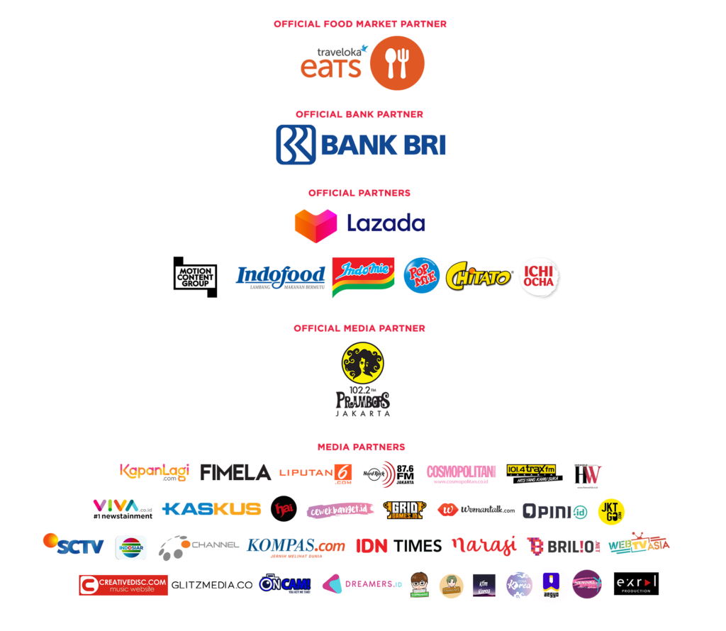 Jakarta On Off 2019 Sponsors & Media Partners