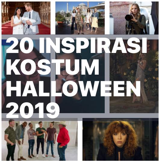 20 inspirasi kostum halloween 2019