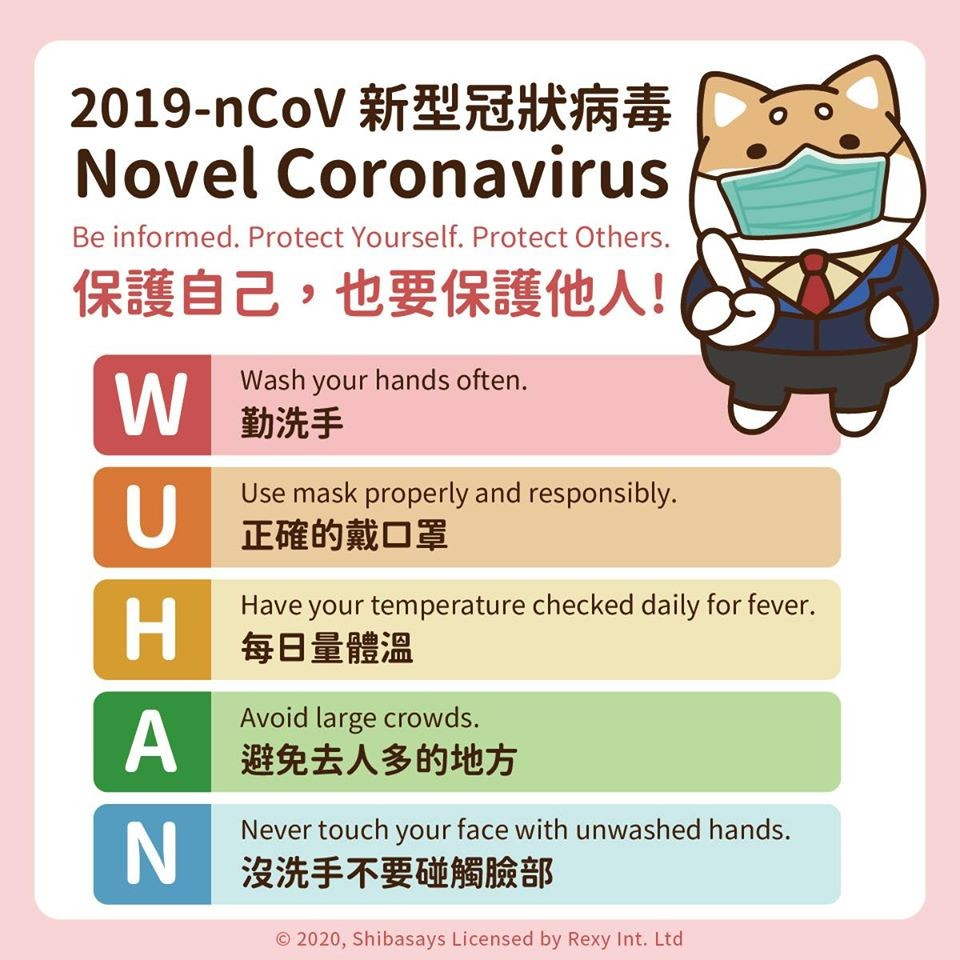 Peran Maskot Zongchai Dalam Keberhasilan Taiwan Mengendalikan COVID-19 1