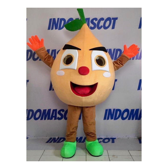 badut maskot orange juice