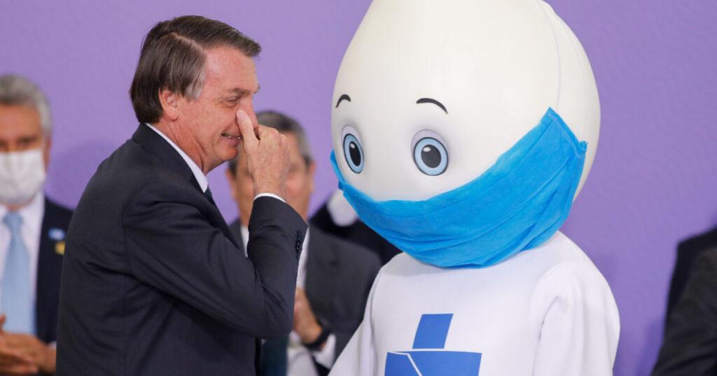 Maskot Vaksin Brasil, Ze Gotinho 2