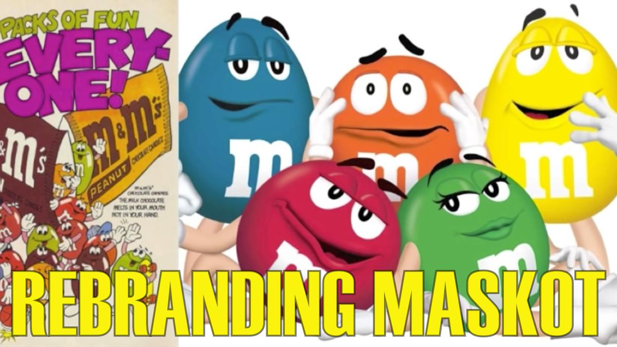rebranding maskot